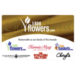 1-800-FLOWERS.COM<sup>®</sup> $25 Gift Card